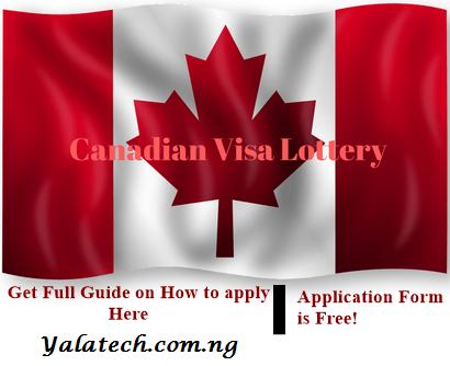 Canadian Visa Lottery 2020/2021