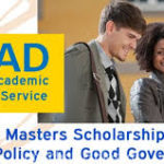Daad scholarship for masters