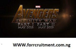AVENGERS 4 Infinity War Part 2