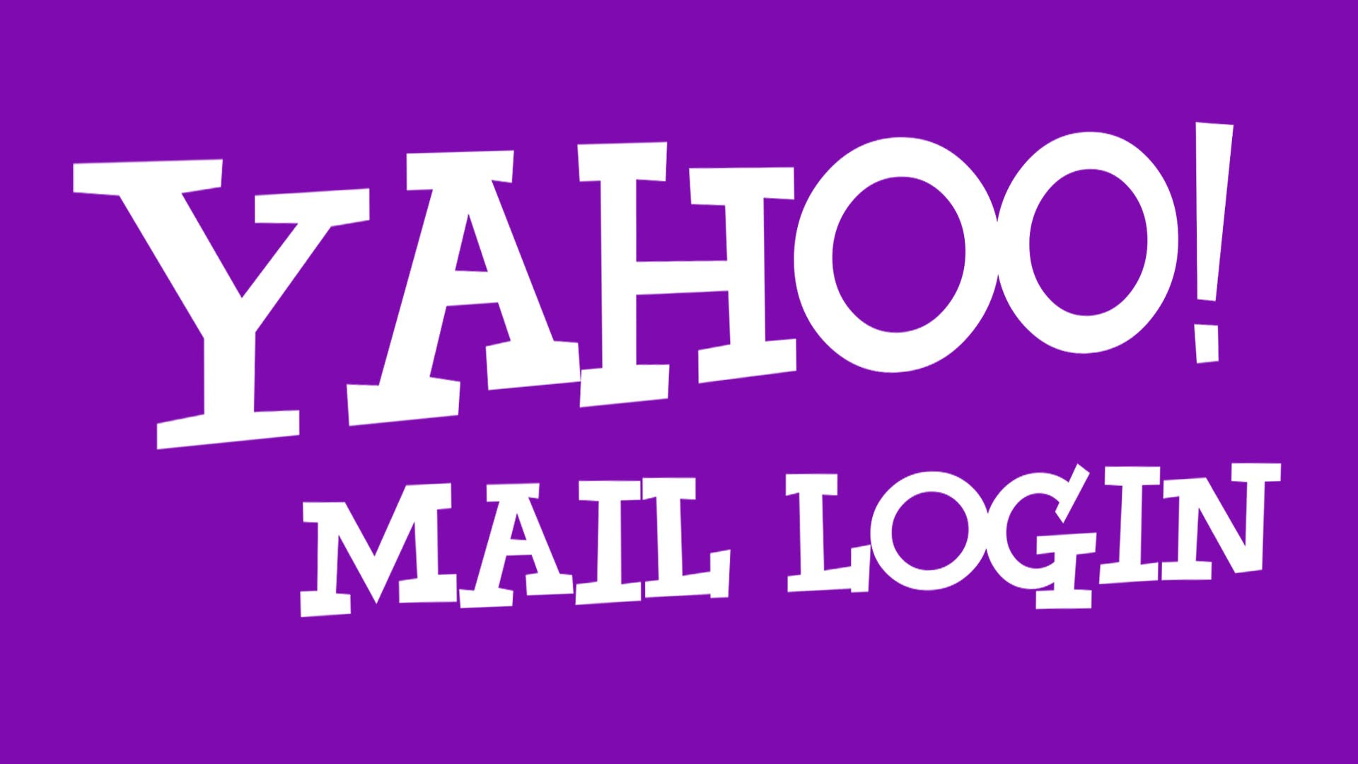 Yahoo Mail Sign