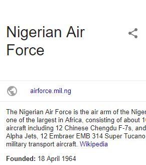 Nigerian Airforce Aptitude Test