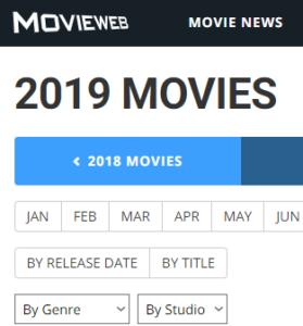 Movieweb 2019