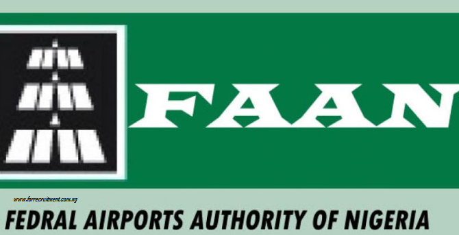 FAAN Recruitment 2020/2021 Portal