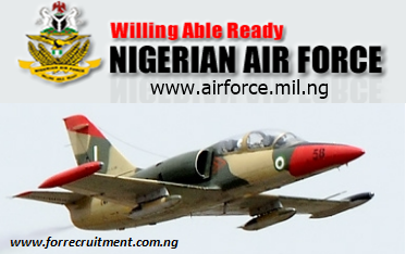 Nigerian Airforce Recruitment: Form, Portal, List, Airmen& Airwomen