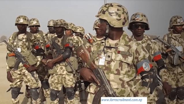 Nigerian Army Shortlisted Candidates 2020