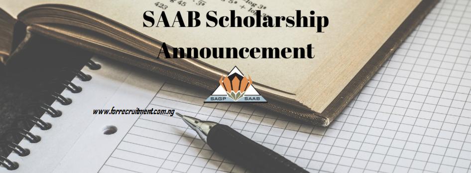 SAAB Scholarship 2019