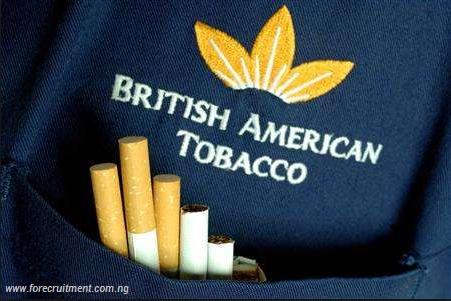 British American Tobacco 2019 Recruitment