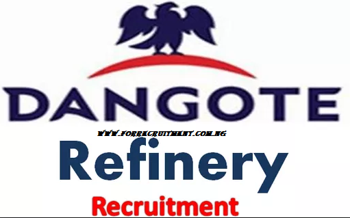 Dangote Refinery 2020 Recruitment