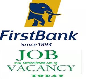 First Bank Recruitment portal 2020
