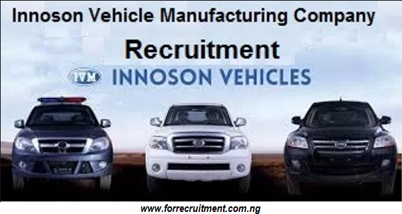 Innoson Vehicle Manufacturing Recruitment 2019