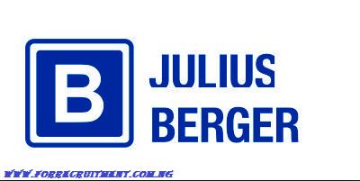 Julius Berger Recruitment 2020