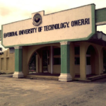 FUTO Cut off Mark for all Courses 2019