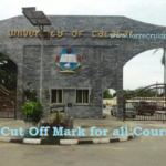 UNICAL Jamb Cut off Mark 2019 | UNICAL Cut off Mark for all Courses 2019