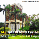 UNILAG cut off mark for all courses 2019