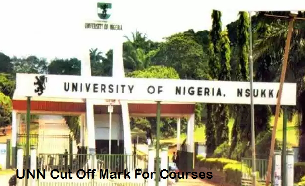 UNN Cut off Mark for all Courses