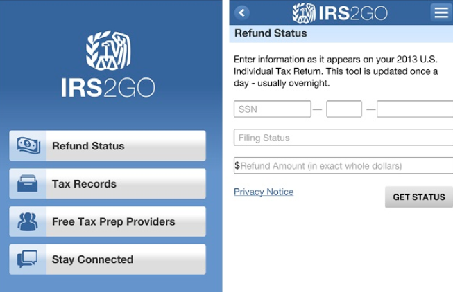 Download IRS2GO App