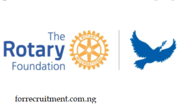 2022 Rotary Peace Fellowship Program