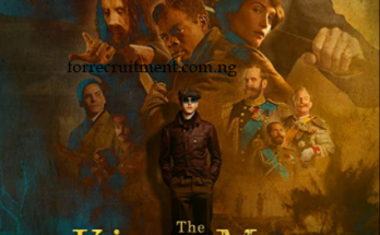 The King's Man Full Movie Download
