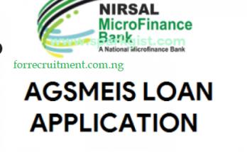CBN loan Application Form 2021